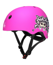 Шлем Triple Eight Lil 8 Staab Neon Pink M Wipeout