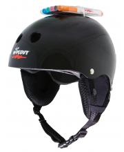 Зимний шлем с фломастерами Black L Wipeout
