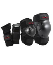 Комплект защиты Eight Ball Black 3 в 1 Wipeout
