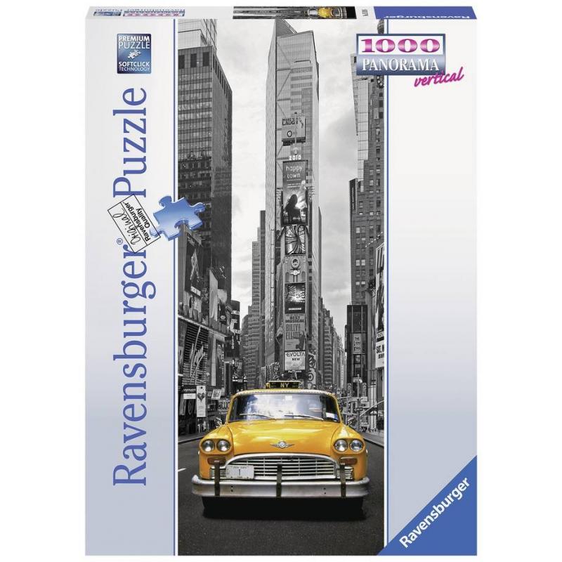 RAVENSBURGER Пазл панорамный Нью-Йоркское такси 1000 деталей пазл ravensburger пазл панорамный идиллия на озере 1000 шт
