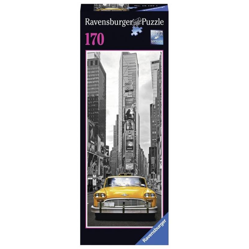 RAVENSBURGER Пазл Нью-Йоркское такси 170 деталей фигурки игрушки playmates toys фигурка черепашки ниндзя