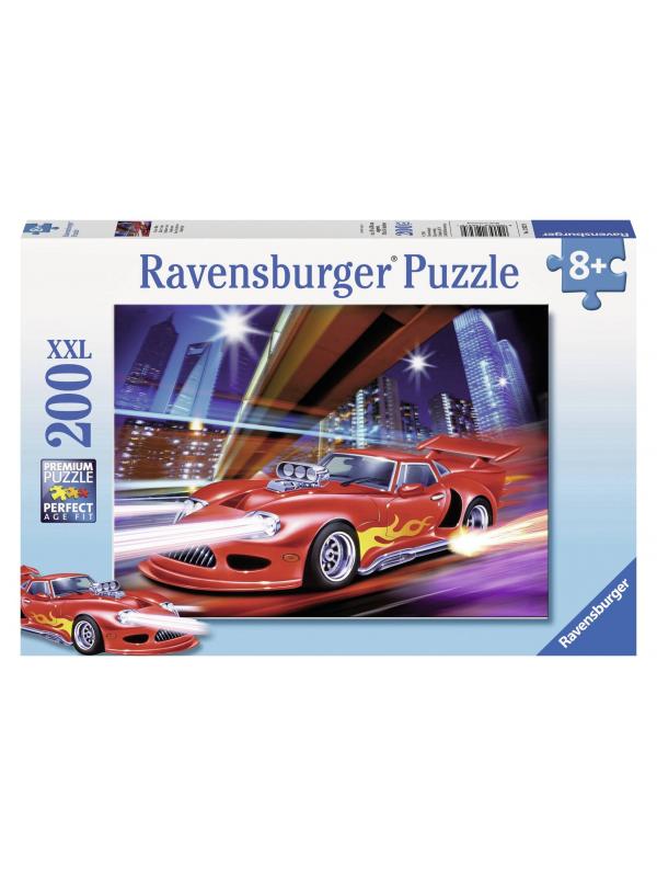 Пазл Ночная гонка XXL 200 деталей RAVENSBURGER