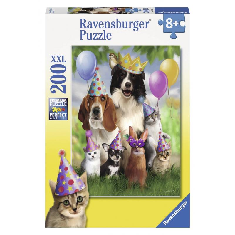 RAVENSBURGER Пазл Король вечеринки XXL 200 деталей худи print bar монстер хай