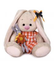 Зайка Ми в оранжевом платье с зайчиком 15 см BUDI BASA