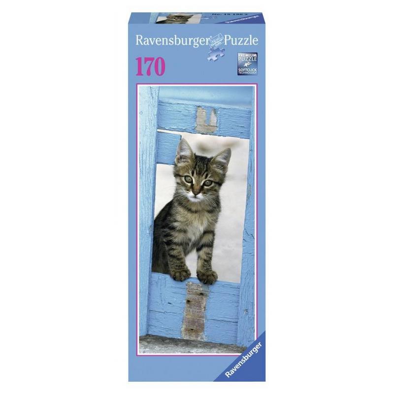RAVENSBURGER Пазл Любопытный котенок 170 деталей пазл 200 котенок 17154
