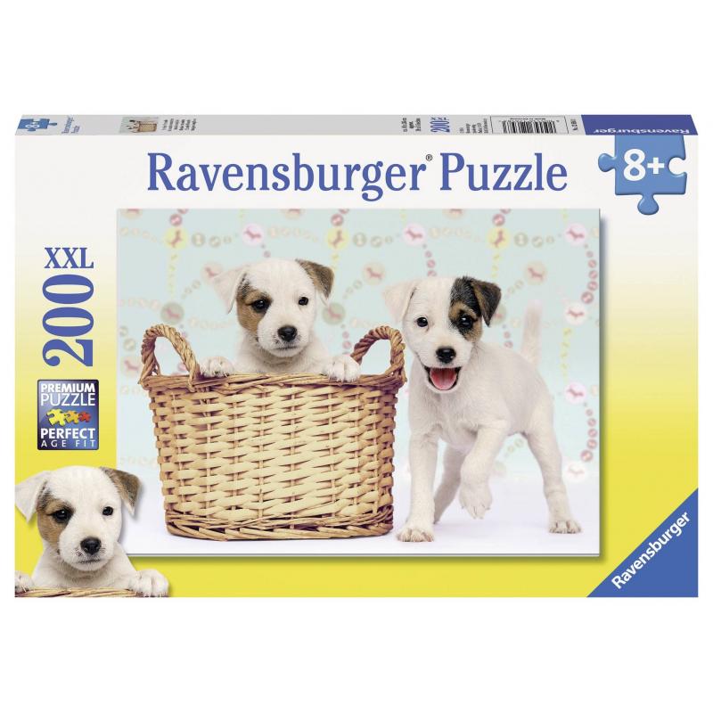 RAVENSBURGER Пазл Озорные друзья XXL 200 деталей пазл 200 элементов ravensburger мой первый питомец 12810