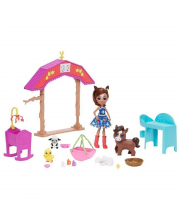 Игровой набор Enchantimals Звериная ферма Mattel