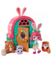 Игровой набор Enchantimals Домик-сюрприз Бри Кроли Mattel