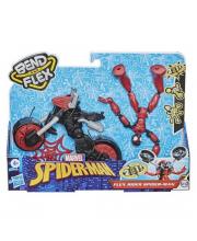 Игровой набор Spider-Man Бенди на мотоцикле HASBRO