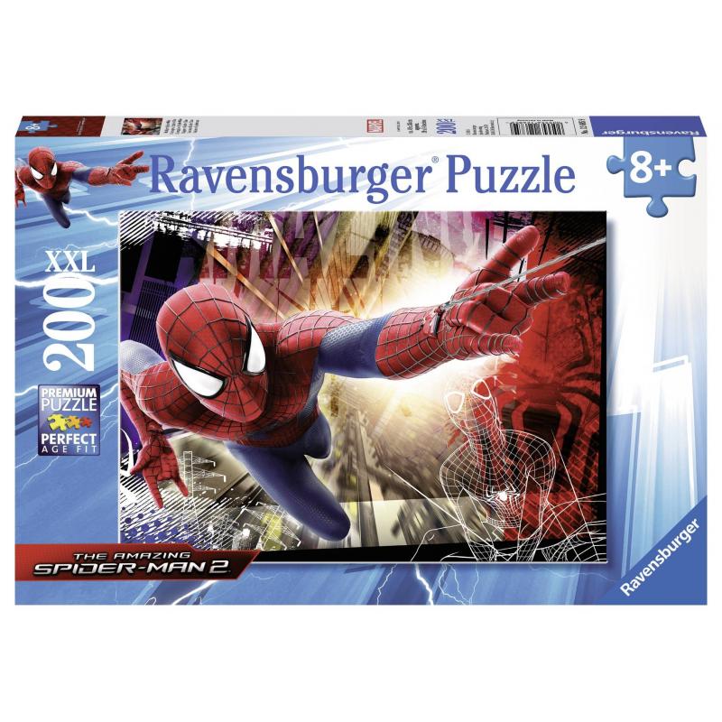 RAVENSBURGER Пазл Человек-паук XXL 200 деталей ravensburger пазл солнечная система xxl 200 деталей