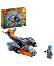 Конструктор Creator Кибердрон LEGO