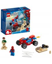 Конструктор Super Heroes Бой Человека-Паука с Песочным Человеком LEGO