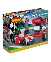 Конструктор Pit Stop гоночная машина 72 детали Bauer