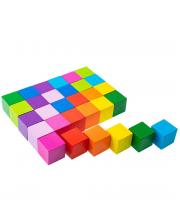 Кубики Цветные 30 штук ТОМИК