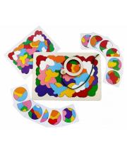 Мозаика-вкладыш Найди бабочку 27 деталей Крона