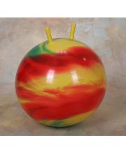 Мяч радужный с рогами 45 см Arpax