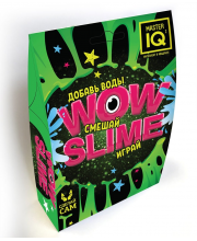 Набор для опытов WOW slime черный Master IQ²