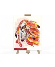Набор для творчества Картина по номерам Конь Данко-Тойс