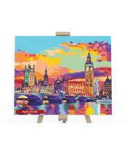 Набор для творчества Картина по номерам Лондон Данко-Тойс
