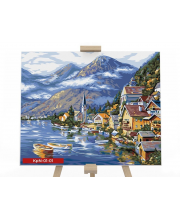 Набор для творчества Картина по номерам Морской пейзаж Данко-Тойс