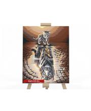 Набор для творчества Картина по номерам Отражение Данко-Тойс