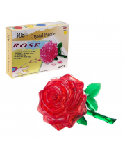 Пазл 3D Роза 44 детали Наша Игрушка