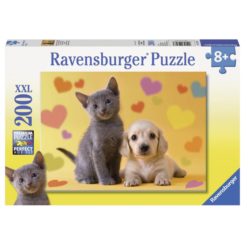 RAVENSBURGER Пазл Неразлучные друзья XXL 200 деталей пазл 200 элементов ravensburger мой первый питомец 12810