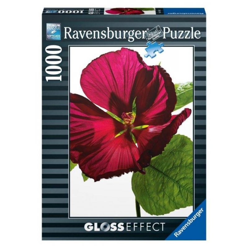 RAVENSBURGER Пазл Цветок гибискуса 1000 деталей пазлы ravensburger пазл цветные кексы с глянцевым эффектом 1000 элементов