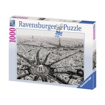 Игрушки, Пазл Черно-белый Париж 1000 деталей RAVENSBURGER 653902, фото