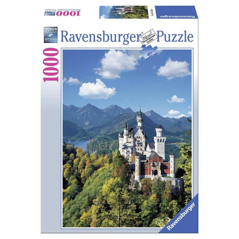 RAVENSBURGER Пазл Нойшванштайн 1000 деталей пазл 73 5 x 48 8 1000 элементов printio осенний пейзаж константин коровин