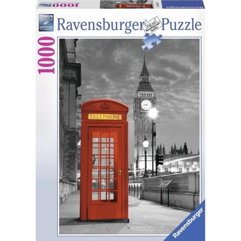 RAVENSBURGER Пазл Биг Бен Лондон 1000 деталей сумка женская flioraj биг бен цвет бежевый 560056 8a