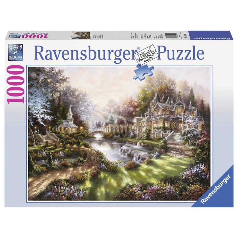 RAVENSBURGER Пазл В утреннем блеске 1000 деталей ravensburger ravensburger 1000