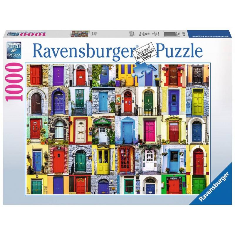 RAVENSBURGER Пазл Двери всего мира 1000 деталей двери металлические входные в алмате