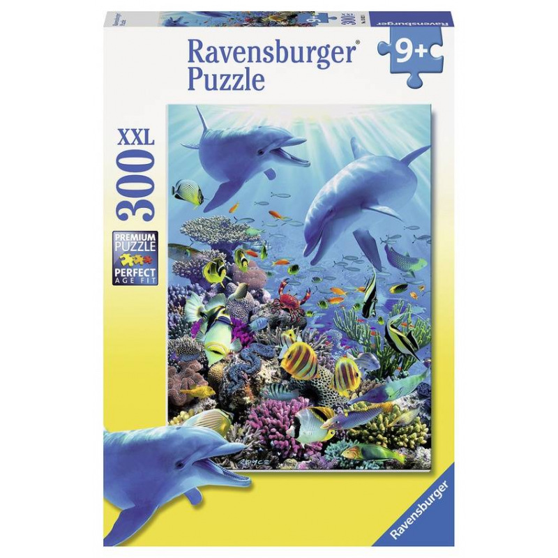 RAVENSBURGER Пазл Подводное приключение XXL 300 деталей пазлы ravensburger пазл детёныши саванны xxl 300 шт