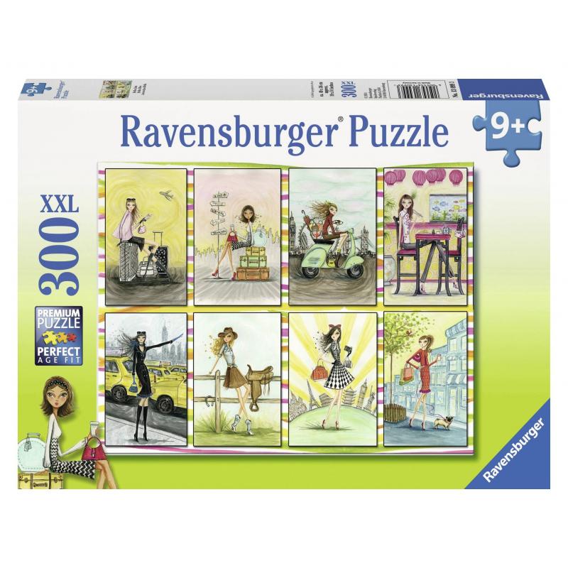 RAVENSBURGER Пазл Модницы XXL 300 деталей пазлы ravensburger пазл детёныши саванны xxl 300 шт