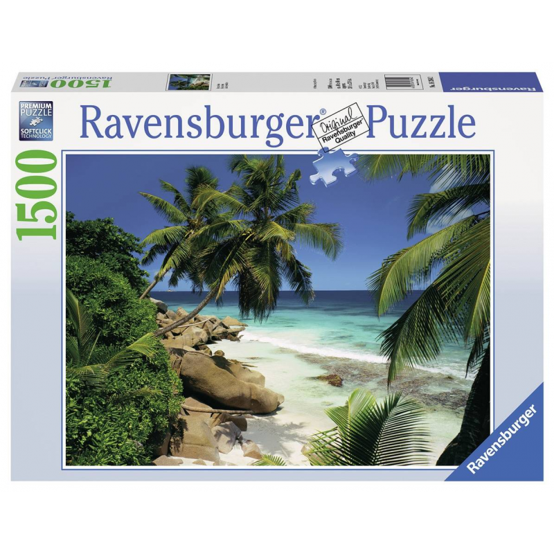 RAVENSBURGER Пазл Сейшелы 1500 деталей пазл 200 элементов ravensburger мой первый питомец 12810