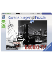 Пазл Бруклинский мост 1500 деталей RAVENSBURGER