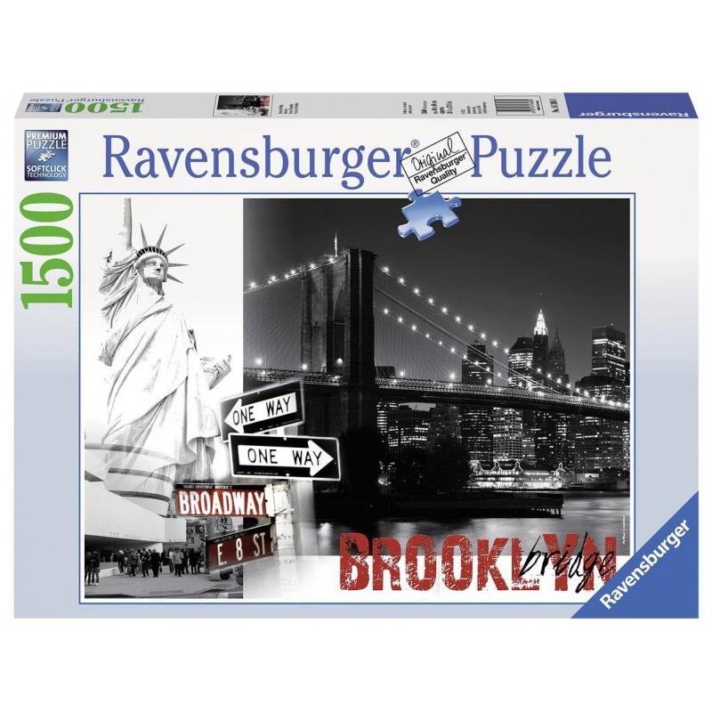 RAVENSBURGER Пазл Бруклинский мост 1500 деталей ravensburger пазл тихая бухта 1500 деталей