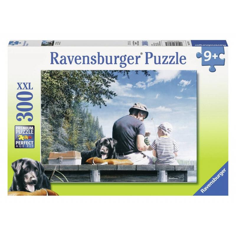 RAVENSBURGER Пазл На рыбалке XXL 300 деталей пазлы ravensburger пазл волшебный книжный шкаф xxl 18000 элементов