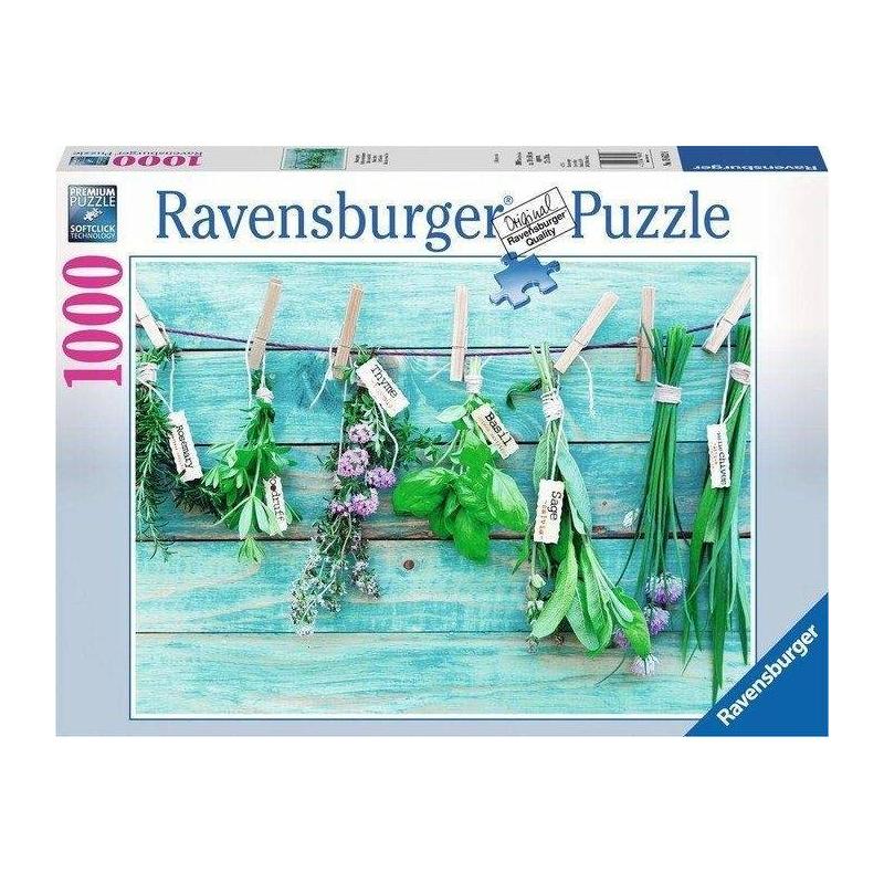 RAVENSBURGER Пазл Садовые травы 1000 деталей