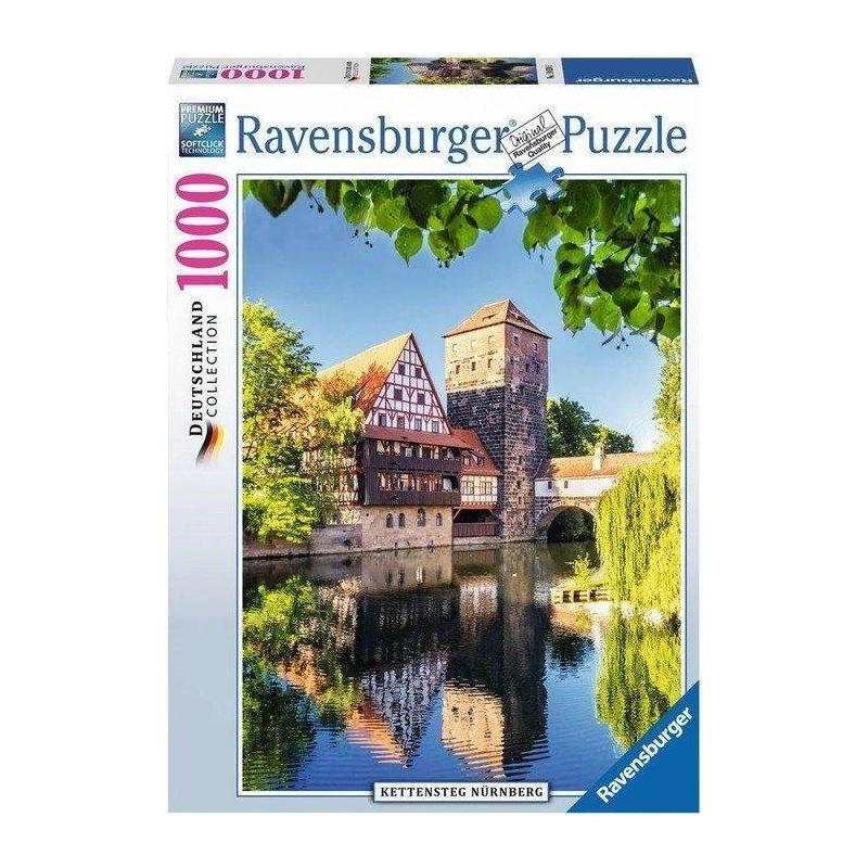 RAVENSBURGER Пазл Отражения Нюрнберга 1000 деталей ravensburger пазл кафе в старом городе 500 деталей