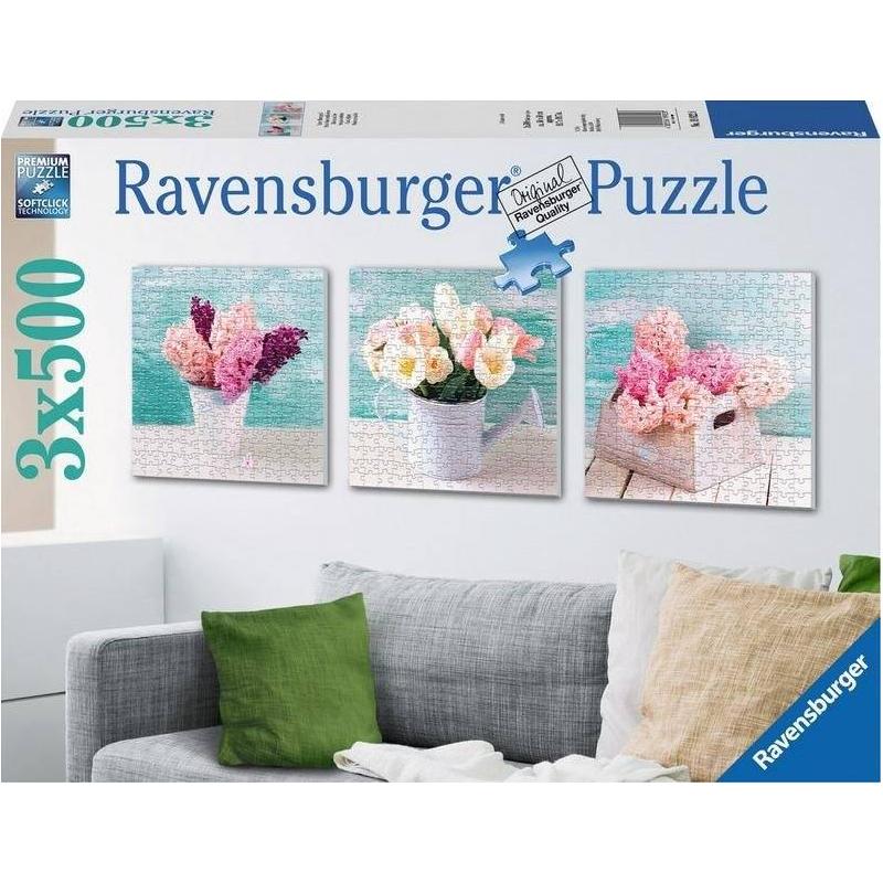 RAVENSBURGER Пазл Цветочное очарование 1500 деталей ravensburger пазл дикие лошади 1500 деталей