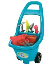 Садовая тележка с инструментами Ecoiffier
