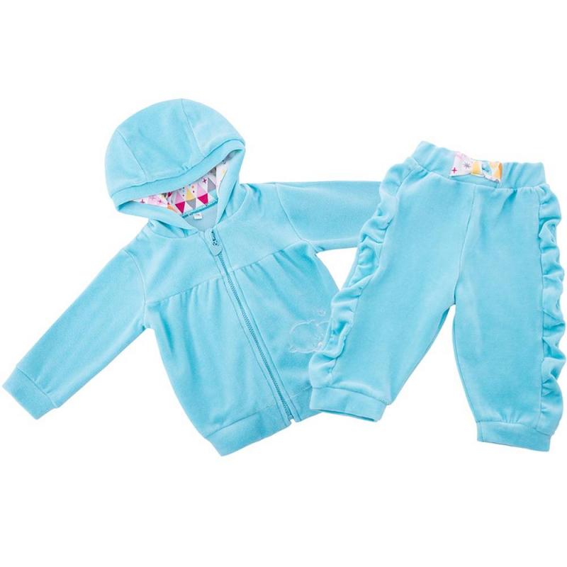 Soni Kids Комплект толстовка нежно голубого цвета brums ут 00008785