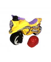 Беговел Motorcycle 7 с шлемом Kinder Way