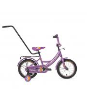 Велосипед 1206-Т с ручкой Black Aqua