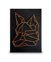 Стринг арт Лиса минимализм String Art Lab
