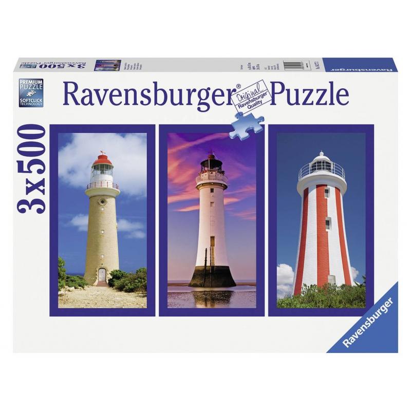 RAVENSBURGER Пазл-триптих Маяк 1500 деталей ravensburger маки тосканы пазл триптих 1000 элементов