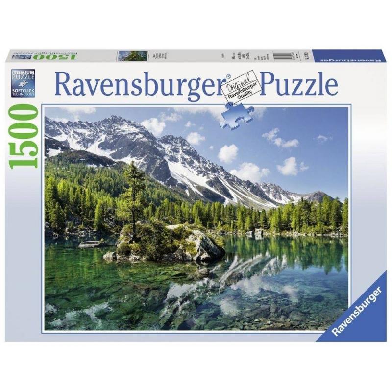 RAVENSBURGER Пазл Волшебная гора 1500 деталей ravensburger пазл тихая бухта 1500 деталей