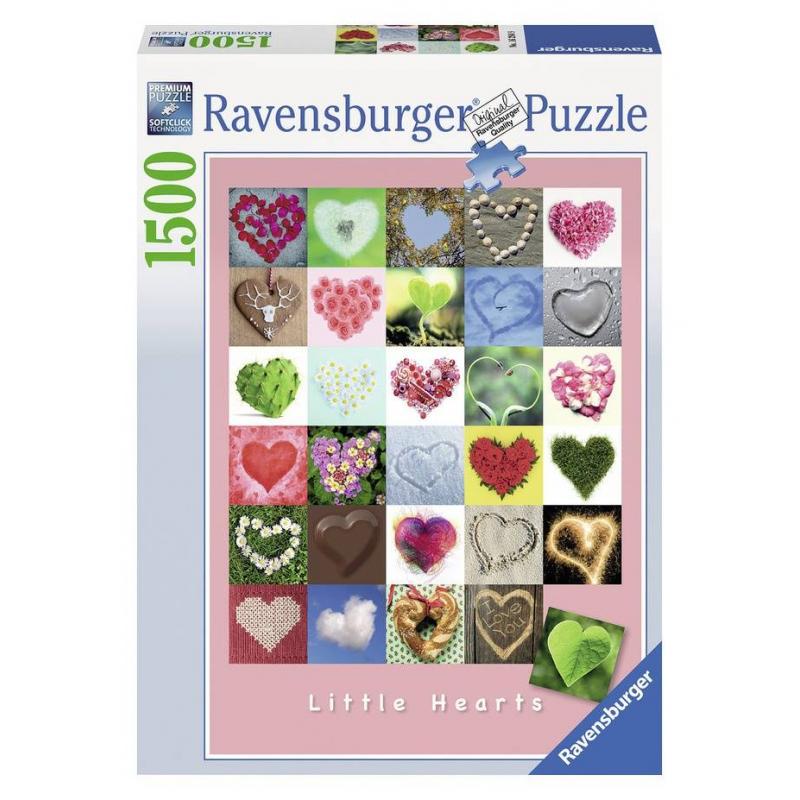 RAVENSBURGER Пазл Галерея сердец 1500 деталей ravensburger пазл тихая бухта 1500 деталей